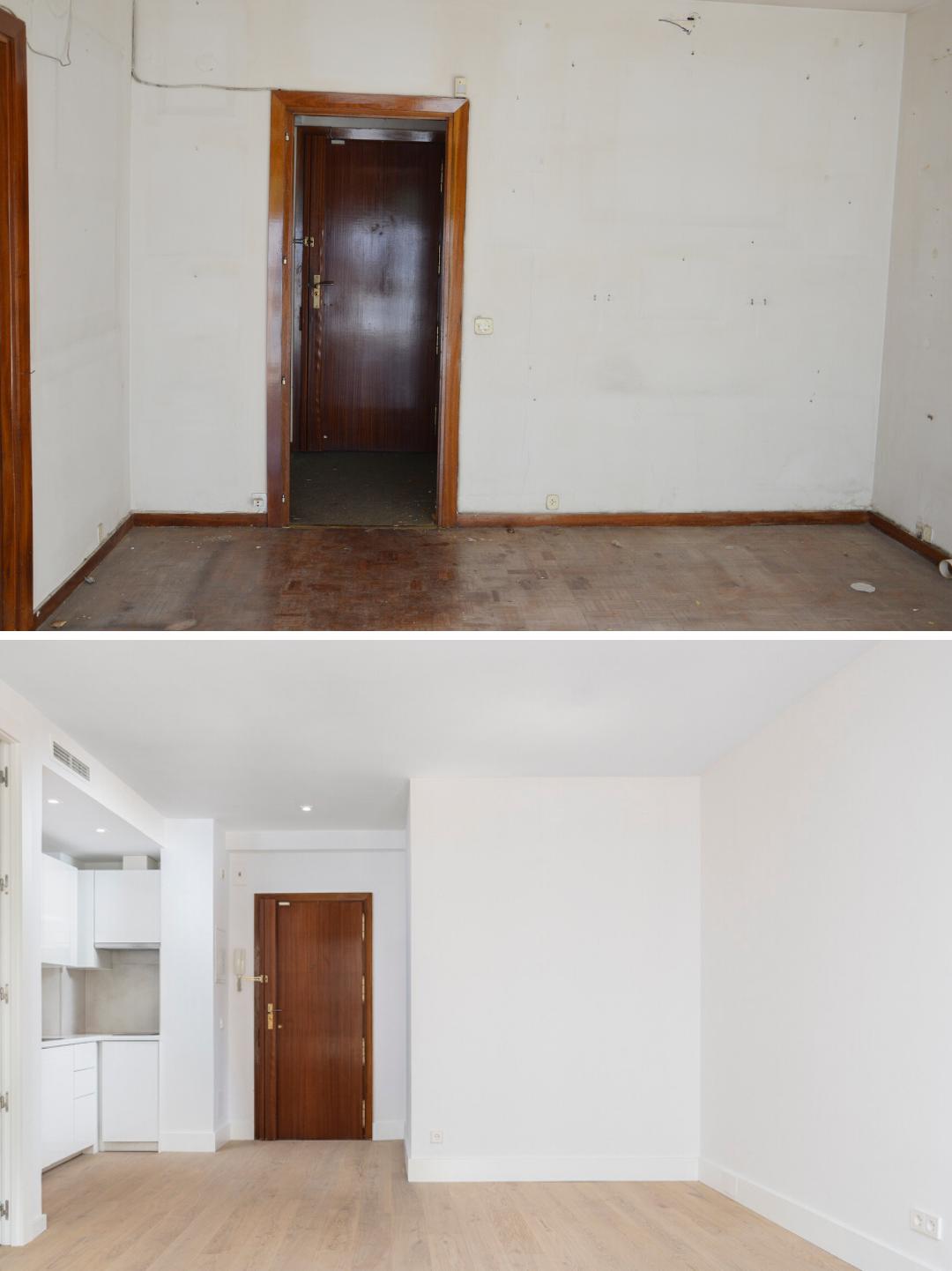 Antes y después de la reforma integral en el barrio salamanca
