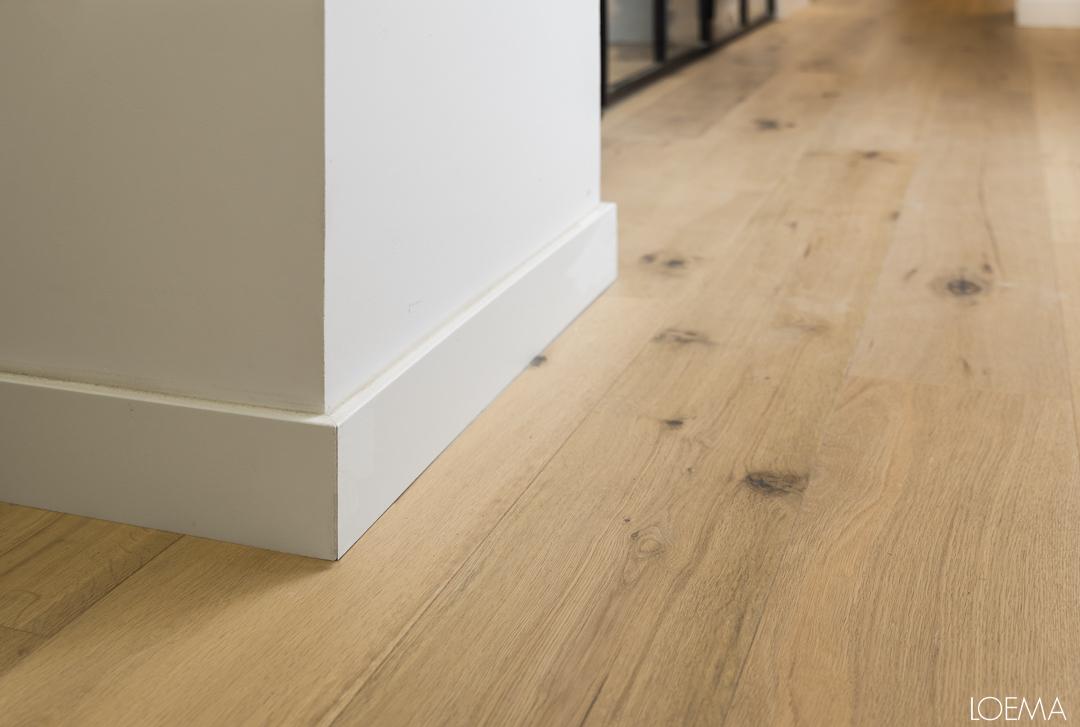 Detalle suelo del semisotano reformado