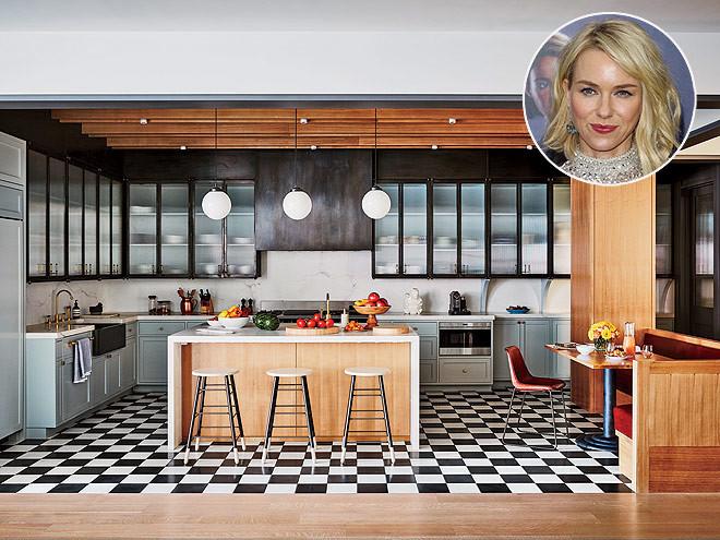 cocina retro de Naomi Watts