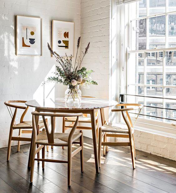 la Wishbone Chair, de Hans J Wegner