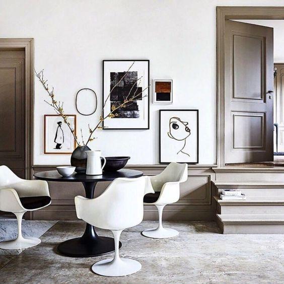 la Tulip Chais, de Eero Saarinen
