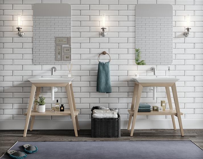 muebles de baño vintage