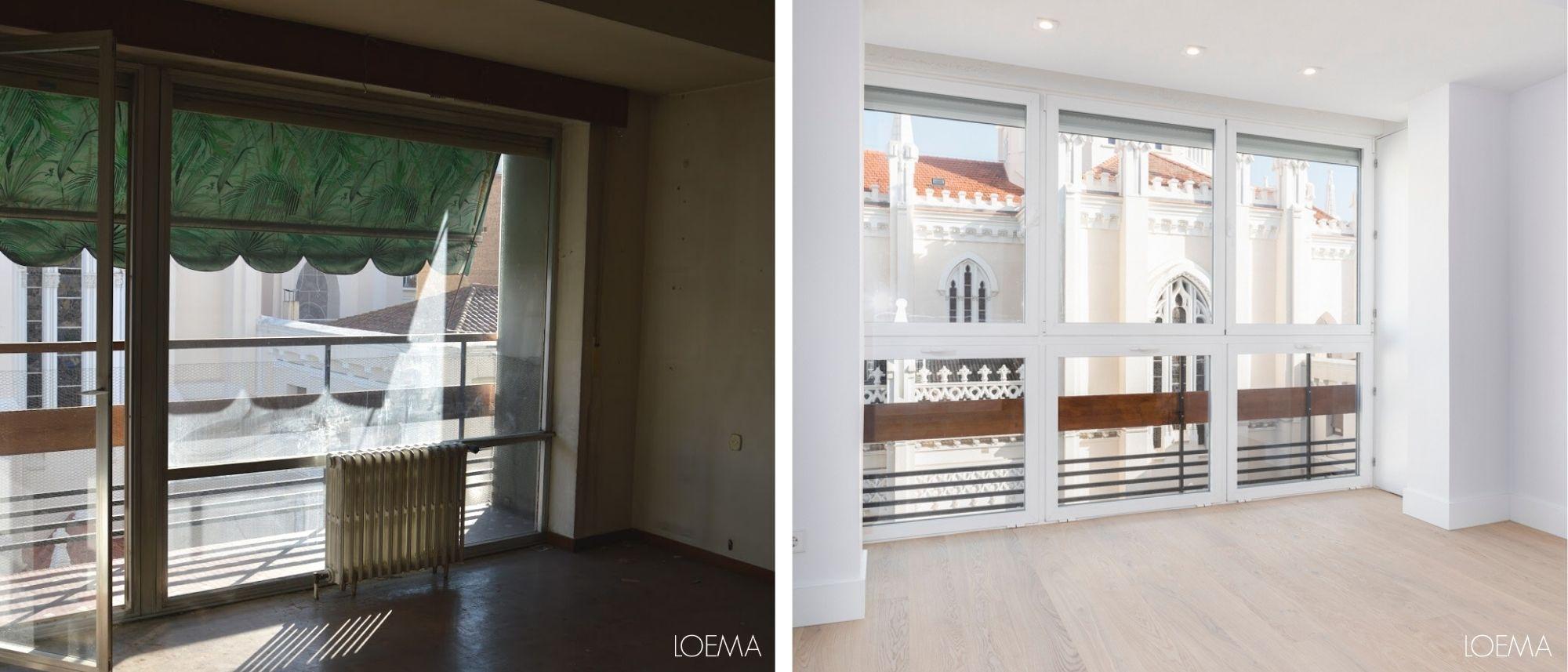 antes y despues casa antigua