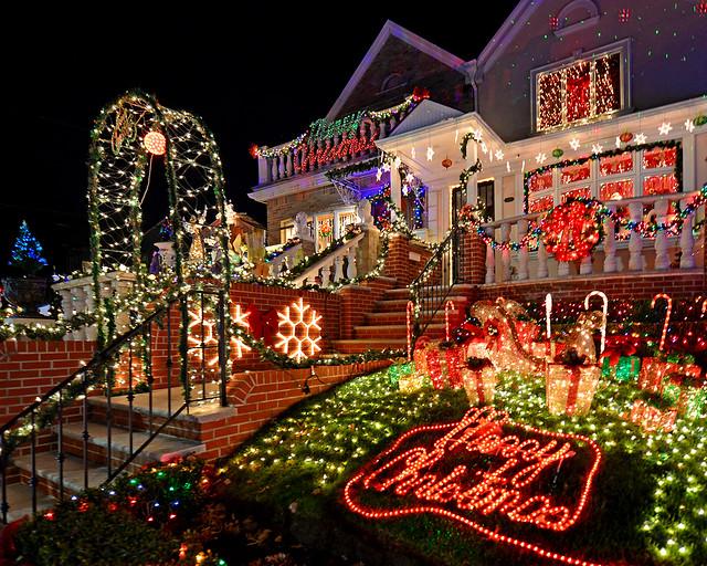 casas mejor iluminadas de navidad