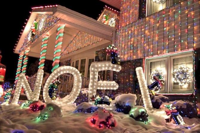 casas mejor iluminadas en navidad