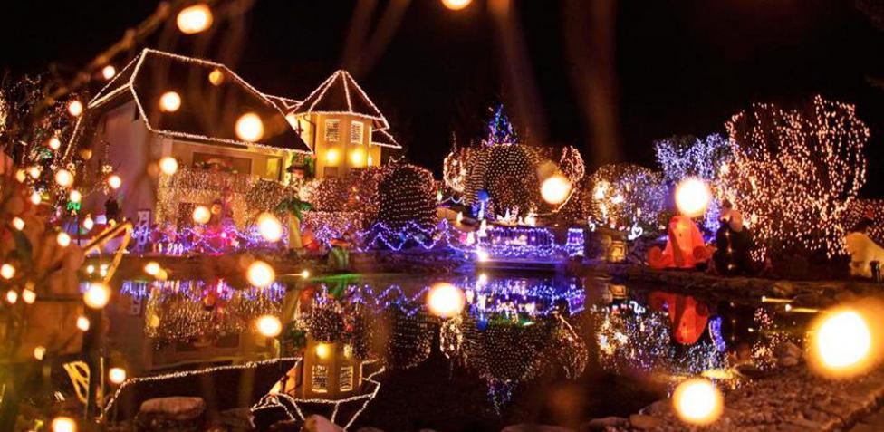 las casas mejor iluminadas en navidad