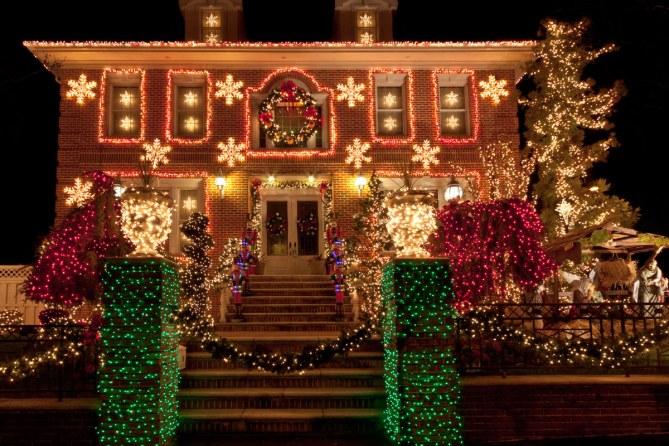 las mejores casas iluminadas en navidad
