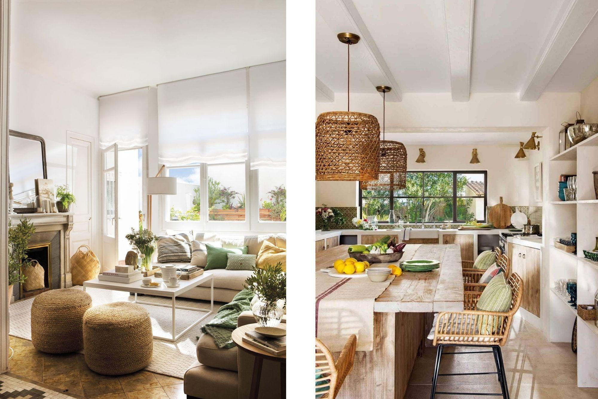 Tendencias decoracion primavera 2021 inspiracion de cocina y salon