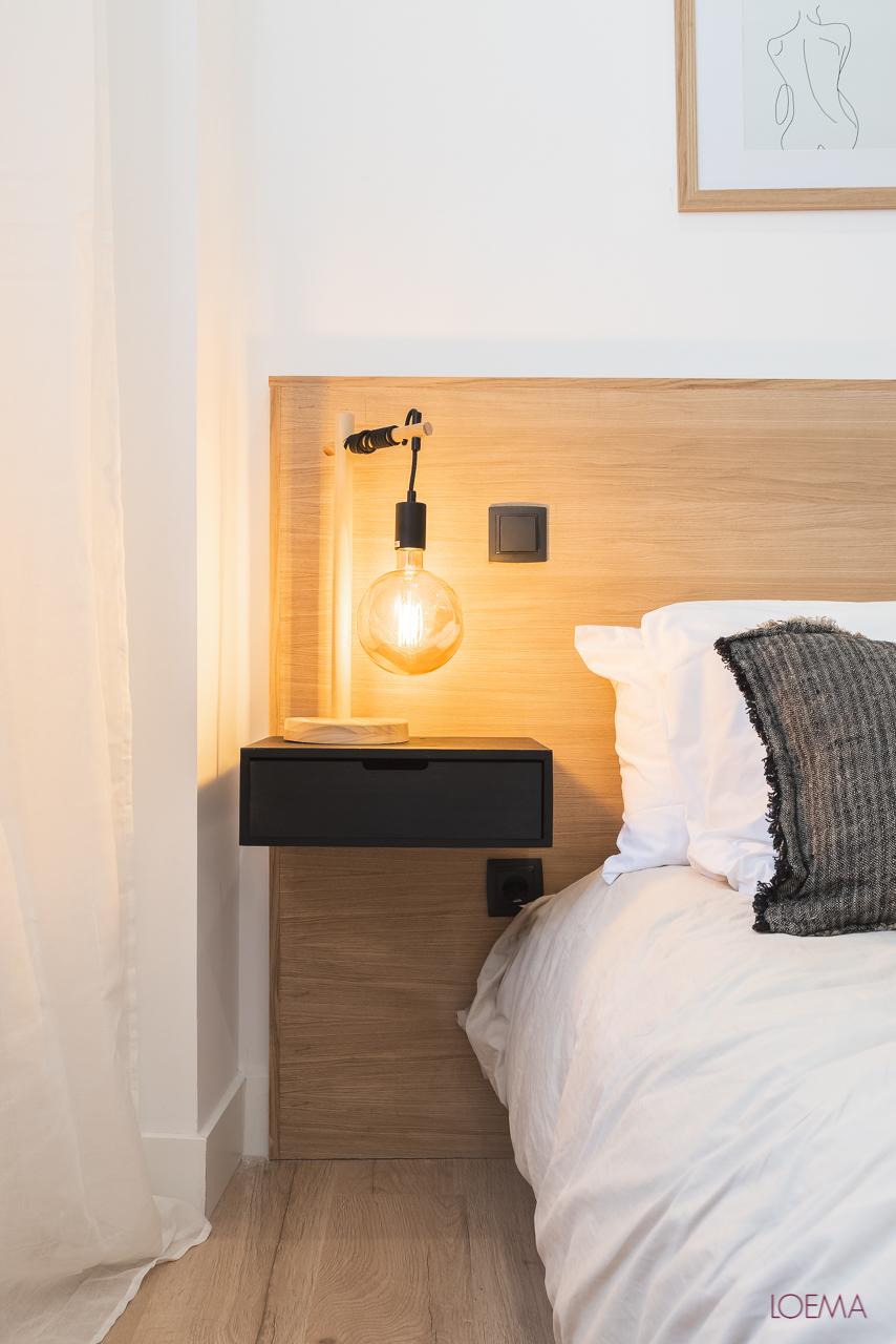 iluminación con led en el dormitorio principal